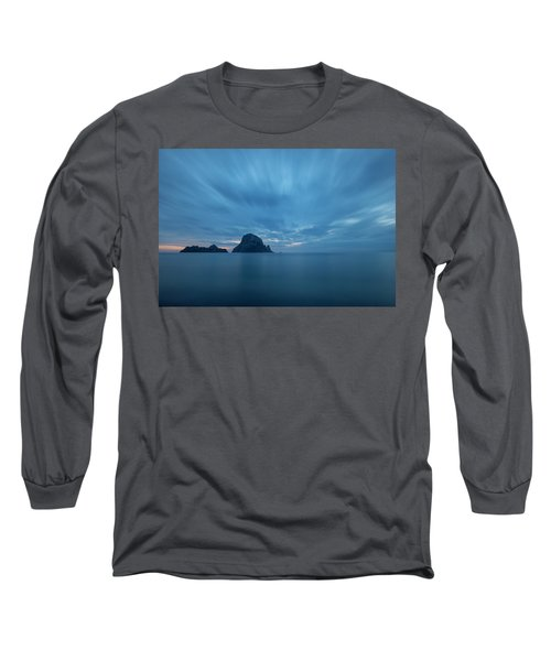 The Blue Hour In Es Vedra, Ibiza Long Sleeve T-Shirt