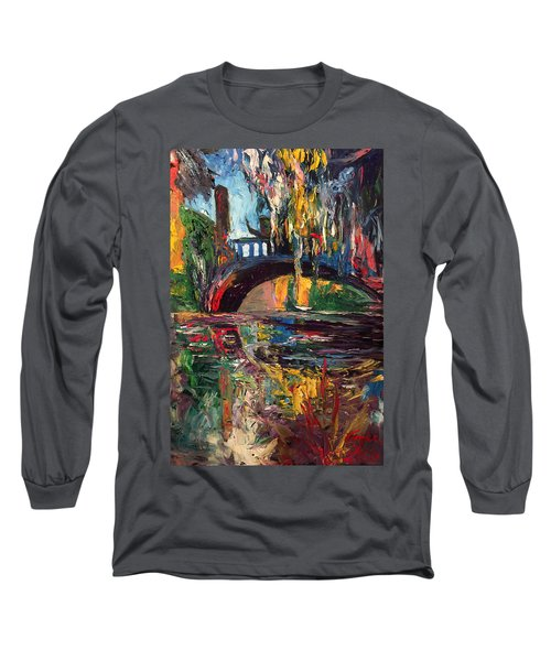 The Bridge At City Park New Orleans Long Sleeve T-Shirt