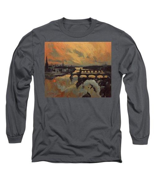 The Bridges Of Maastricht Long Sleeve T-Shirt