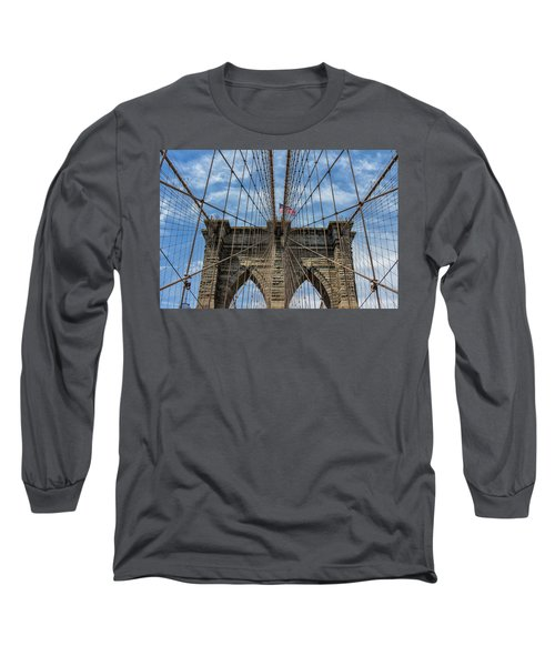 The Brooklyn Bridge Long Sleeve T-Shirt