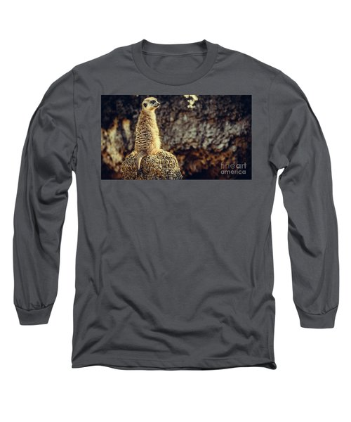 The Cat Who Does Not Meow... Long Sleeve T-Shirt
