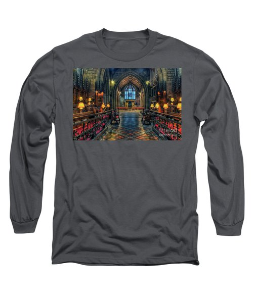 The Cathedral Church Of Saints Asaph And Cyndeym Long Sleeve T-Shirt