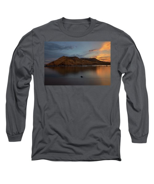 The Closed Cove In Aguilas At Sunset, Murcia Long Sleeve T-Shirt