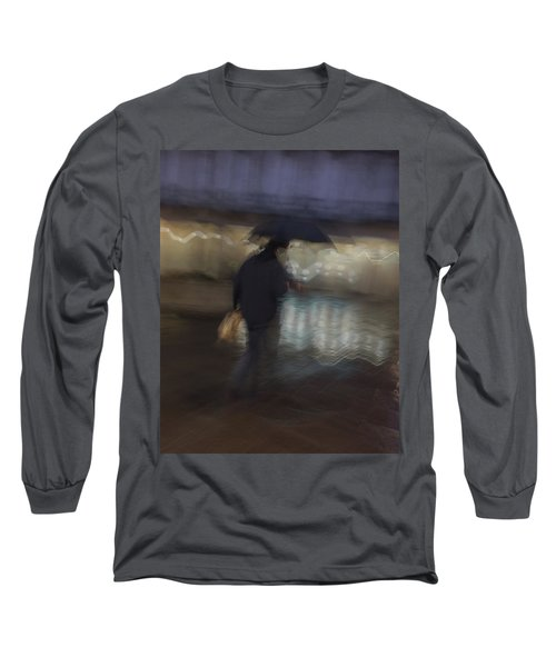 Long Sleeve T-Shirt featuring the photograph The End Of A Long Day by Alex Lapidus