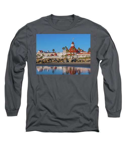 The Hotel Del Coronado San Diego Long Sleeve T-Shirt