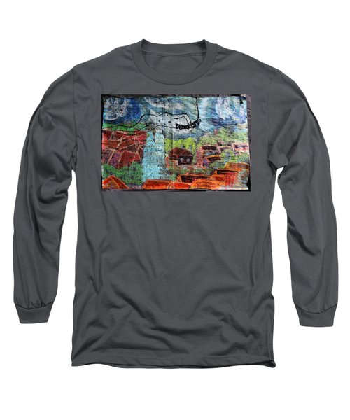 The Hues Brightened Life Seems Good Long Sleeve T-Shirt