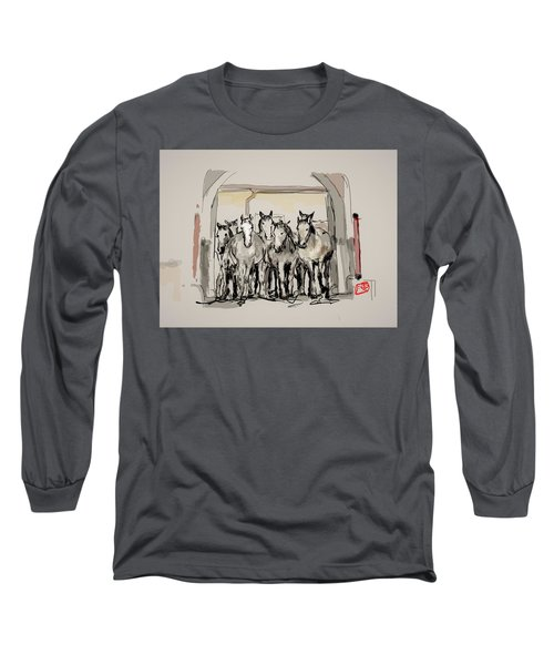 The Kladrubers  Long Sleeve T-Shirt