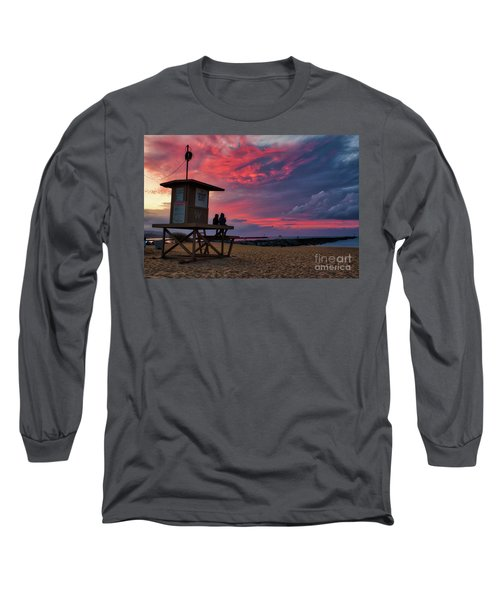 The Last Sunrise Of 2018 At The Wedge Long Sleeve T-Shirt