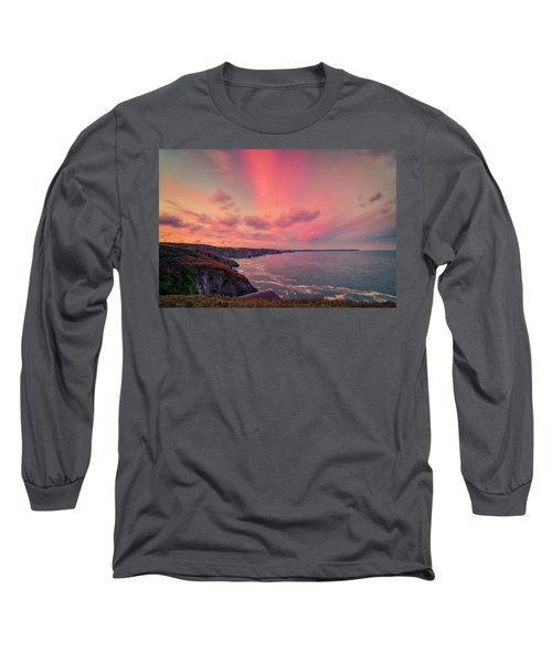 The Lizard Point Sunset Long Sleeve T-Shirt