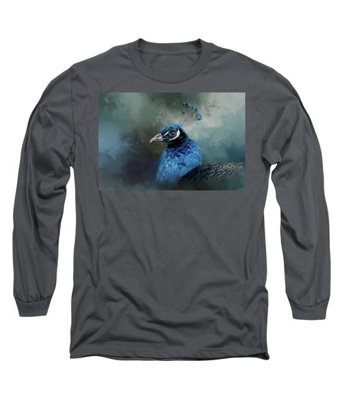 The Peacock's Crown Long Sleeve T-Shirt