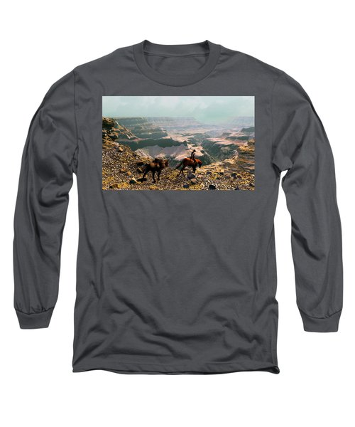 The Sinking Earth Long Sleeve T-Shirt