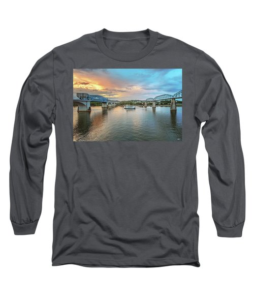 The Southern Belle Between The Bridges  Long Sleeve T-Shirt