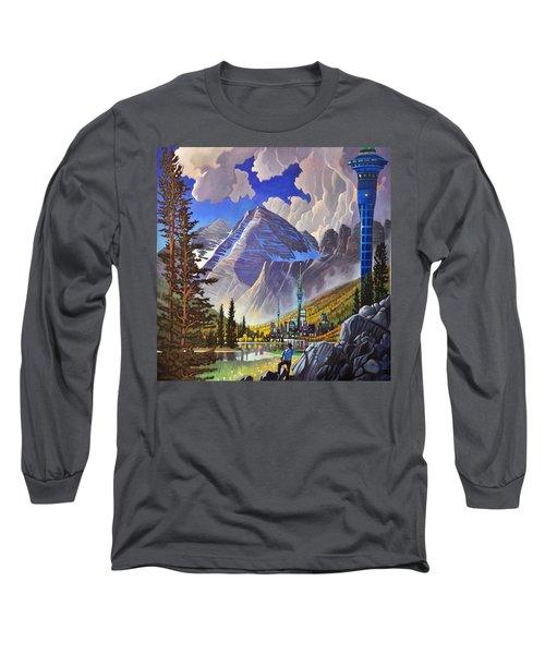 The Three Towers Long Sleeve T-Shirt