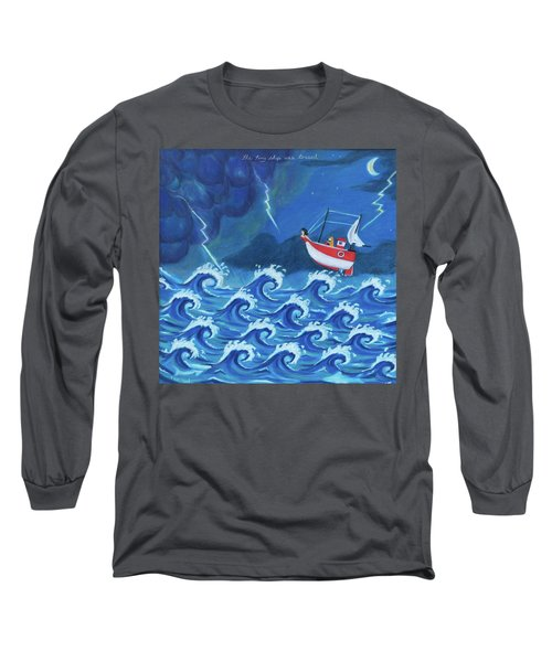 The Tiny Ship Was Tossed Long Sleeve T-Shirt