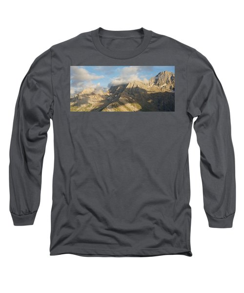 The View From Pic De Tentes Long Sleeve T-Shirt