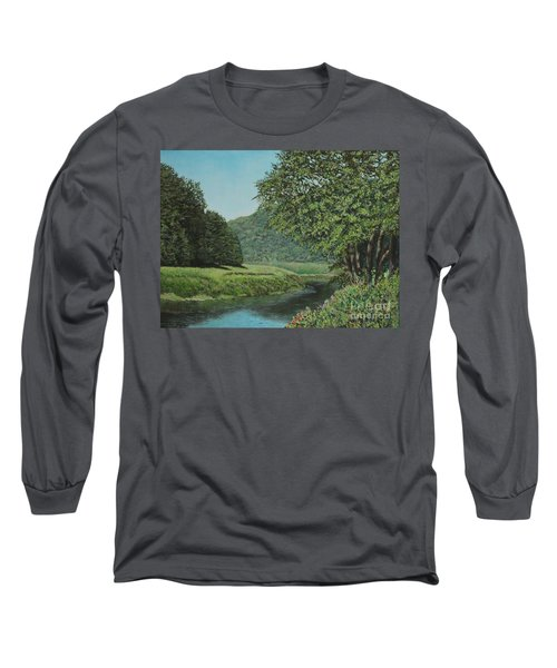 The Wye River Of Wales Long Sleeve T-Shirt