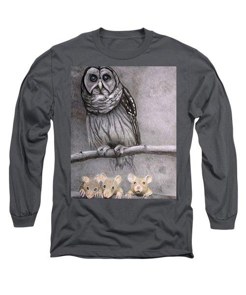 Three Blind Mice Long Sleeve T-Shirt