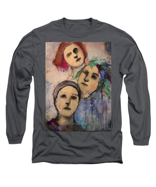 Threes Long Sleeve T-Shirt