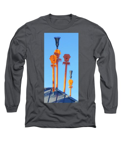 Tiki Palm Springs Long Sleeve T-Shirt