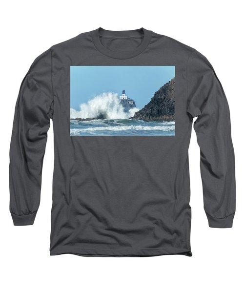 Tillamook Rock Light House, Oregon - Terrible Tilly Long Sleeve T-Shirt