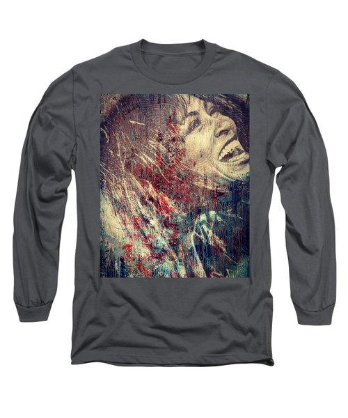 Tina Turner Spirit  Long Sleeve T-Shirt