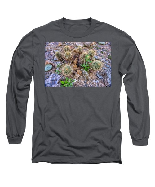 Tiny Cactus Long Sleeve T-Shirt
