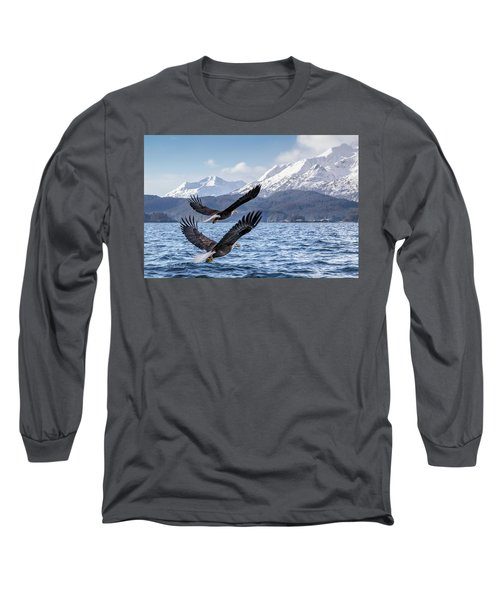To The Hills... #2 Long Sleeve T-Shirt