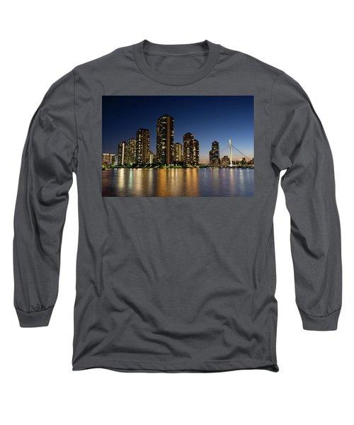 Tokyo Night View Long Sleeve T-Shirt