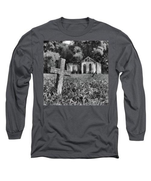 Tombstone, St. Chad's, Trinidad Long Sleeve T-Shirt