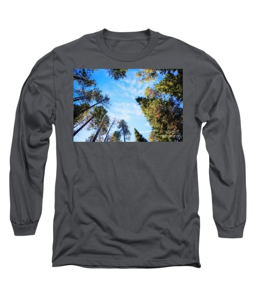 Long Sleeve T-Shirt featuring the photograph Towering Pines by Scott Kemper