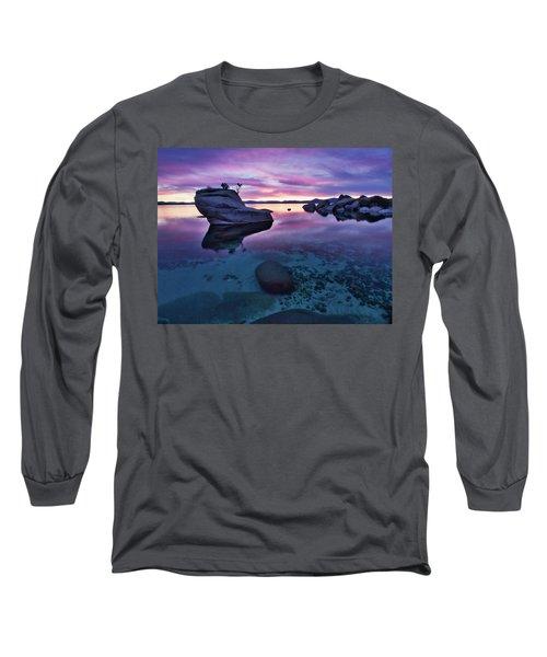 Transparent Sunset Long Sleeve T-Shirt