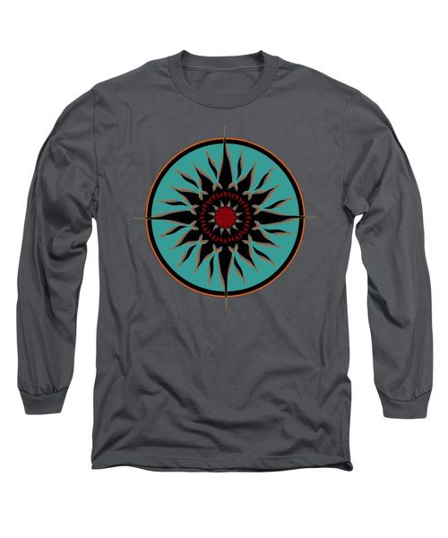 Tribal Sun Long Sleeve T-Shirt