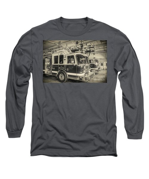 Truck And Engine 211 Long Sleeve T-Shirt
