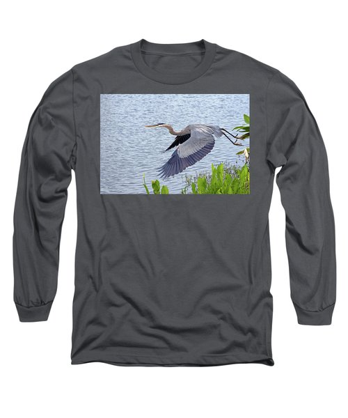 True Blue #2 Long Sleeve T-Shirt
