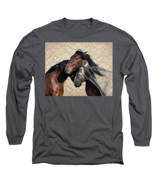 Long Sleeve T-Shirt featuring the photograph Trying To Fit In by Mary Hone