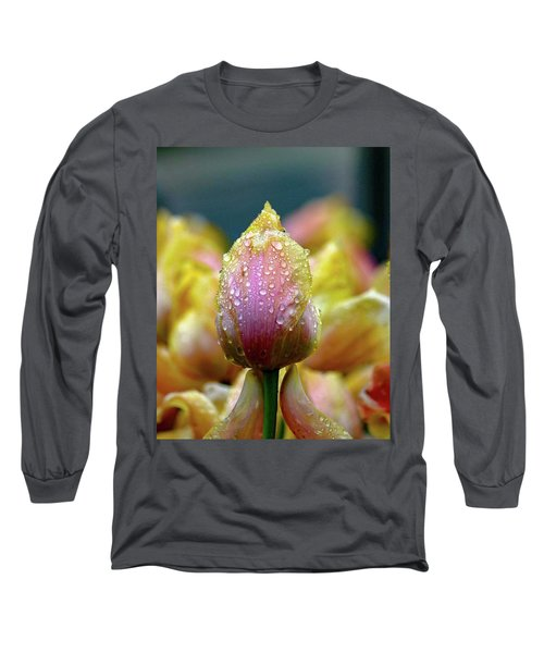 Tulips In The Rain Long Sleeve T-Shirt