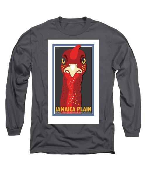 Turkey Stare Jp Long Sleeve T-Shirt