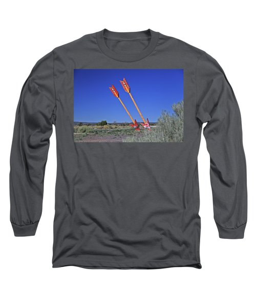 Twin Arrows Long Sleeve T-Shirt