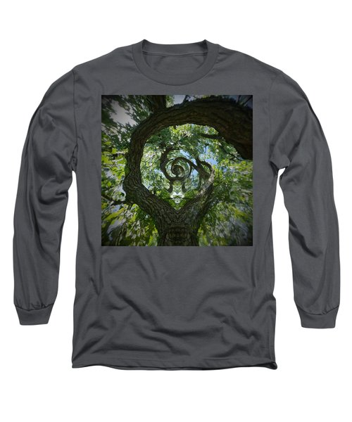 Twisted Tree Long Sleeve T-Shirt