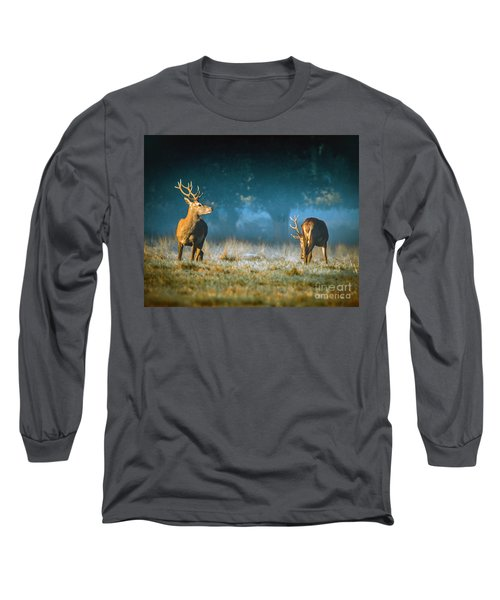 Two Stags Long Sleeve T-Shirt