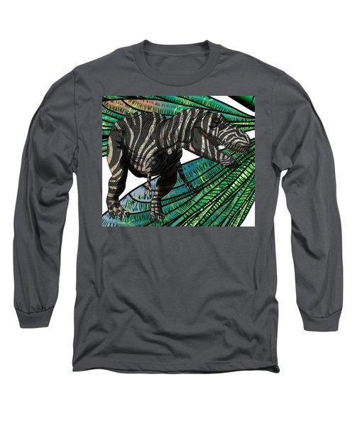 Tyrannosaurus Takes Wings Long Sleeve T-Shirt