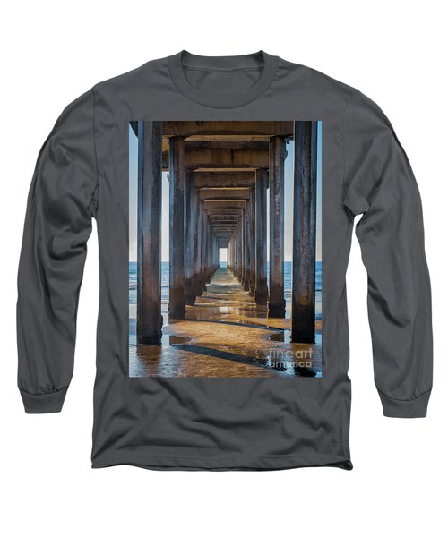 Under Scripps Pier Long Sleeve T-Shirt