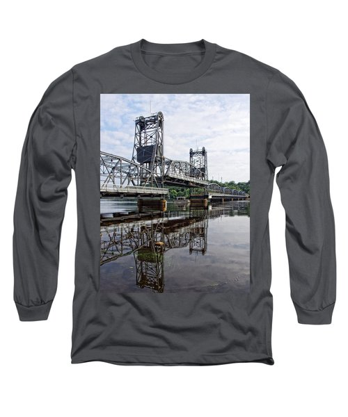 Under The Lift Bridge Long Sleeve T-Shirt