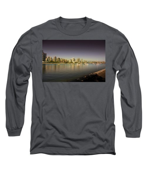Vancouver In Magical Hours Long Sleeve T-Shirt