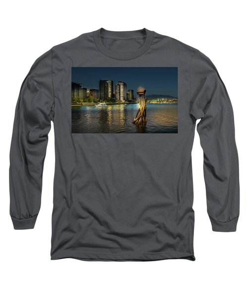 Vancouver Sunset Long Sleeve T-Shirt