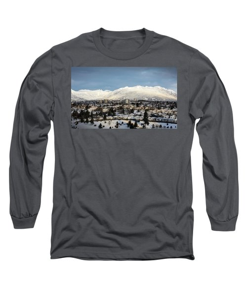Vancouver Winterscape Long Sleeve T-Shirt