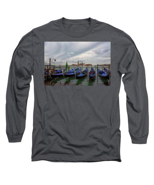 Venice Gondola's Grand Canal Long Sleeve T-Shirt