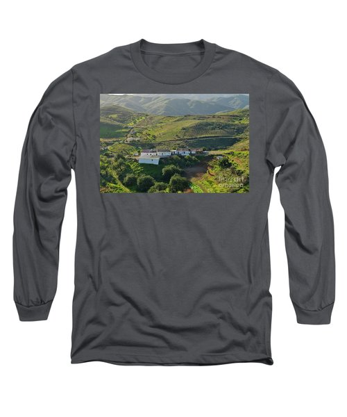Village Hidden In The Mountains Long Sleeve T-Shirt