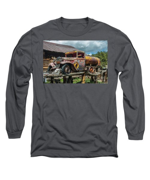 Vintage Ford Tanker Long Sleeve T-Shirt
