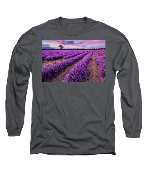 Violet Dreams Long Sleeve T-Shirt